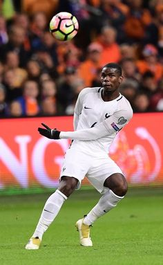France s Paul Pogba passes the ball during the FIFA World Cup 2018 qualifying  football match Netherlands ef7ab11ef