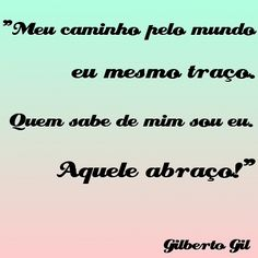 Gilberto Gil - Aquele Abraco Lyrics - YouTube
