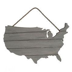 Americana USA Wood Plank Wall Decor