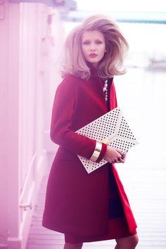 Kristina Romanova Gets Glam for Diego Uchitel in Vogue Mexico