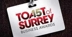 If you think your Surrey business has had a great year, why not put it forward to win a coveted prize at the Toast of Surrey Business Awards 2015?