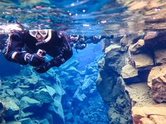 While Richa and Gaurav Joshi were snorkeling in Iceland, they realized there was another world to discover under the water.