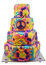 hippie wedding 494833077784345295 - Hippie Wedding Cake- would totally have this ! Source by mmouliets Crazy Cakes, Fancy Cakes, Gorgeous Cakes, Pretty Cakes, Amazing Cakes, Cupcakes, Cupcake Cakes, Trippy Hippie, 70s Hippie