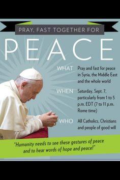 Pray for peace!!!