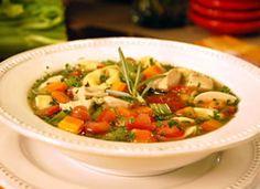 Recipe: Chicken Tortellini Soup