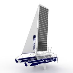 'foscat-32' folding solar catamaran by hakan gürsu  A' design award winners 2012
