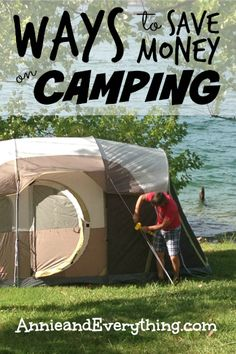 Camping is billed as one of the best ways to save money on vacation… but it can be pricey, too, if you aren't careful. Here are tips to make it cheaper.
