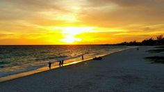 Gorgeous sunset on the beach. Beautiful Islands, Celestial, Sunset, Beach, Outdoor, Outdoors, The Beach, Beaches, Sunsets