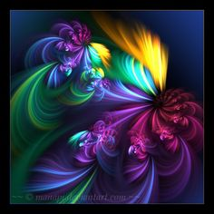 Remember me, #Abstract, #Colorful, #Fractal #Art