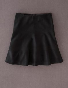 9776b13389e84 I have this Wool Skater Skirt in a slightly lighter heathered gray and I  love it. I could use a top or two to go with it.