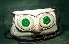 Bogdan Deliu - Handmade Leather Bag - Funky Owl V1