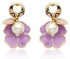 18K Gold Plated Swarovski Elements Crystal Four Leaf Clover 8MM Pearl Earrings-SE3376 Color-jewels,http://www.amazon.com/dp/B007E89BCE/ref=cm_sw_r_pi_dp_vpnusb09QH1Z8V91