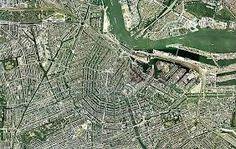 Risultati immagini per amsterdam foto satellite