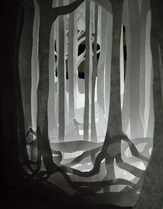 Paper Trees, by Allison Chen