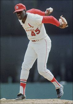 Willie Mays and MLB's 50 Greatest Living Ballplayers - Bob Gibson