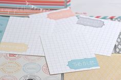 Super Cute Free Printable Project Life Journal Cards