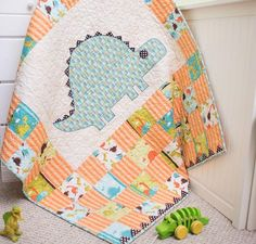 No pattern but cute quilt