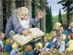 ˇˇ Baumgarten, Library Art, Elves And Fairies, Book People, Story Time, Adult Coloring, Vikings, Childhood, Mermaid