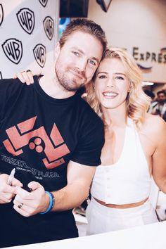 Stephen & Emily #Arrow #SDCC2017