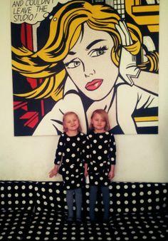 dots, kids, fashion, twins, nina lena