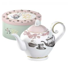 Katie Alice Cupcake Couture 6-cup Teapot