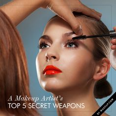 "From makeup casualties to hair mishaps, makeup artists constantly have to be prepared for anything and everything that could happen on set. Here are 5 of my makeup artist ""secret weapons"" that work wonders in a professional setting—or your own makeup routine."