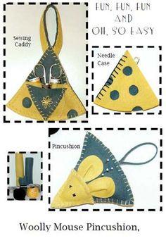 Pincushion Pattern Needle Case Pattern by GabbysQuiltsNSupply, $8.50