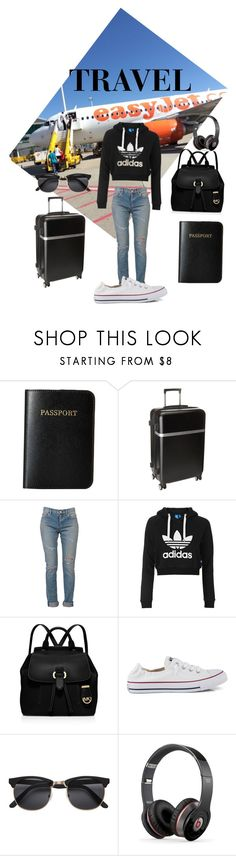 """""""Travel"""" by f-salvatore ❤ liked on Polyvore featuring Vera Bradley, Calvin Klein, Yves Saint Laurent, Topshop, MICHAEL Michael Kors, Converse and Beats by Dr. Dre"""