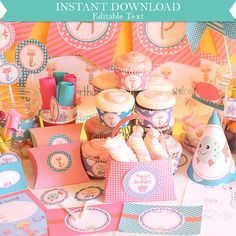 Instant Download Mermaid Birthday Printable Party by printmagic, $14.95