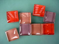 glass magnets for glass, magnets, adhesive: http://www.ecrafty.com/c-81-craft-supplies.aspx