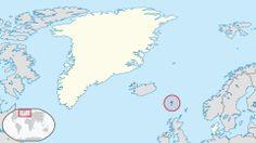 Faroer Islands in the Kingdom of Denmark.svg