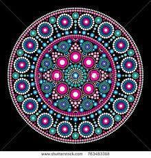 Mandala bohemian vector dot painting, aboriginal dot art, retro folk design inspired by traditional art from australia. Abstract mandala with dots, circles inspired by australian folk art, geometric Mandala Art, Mandala Canvas, Mandala Rocks, Mandala Painting, Mandala Pattern, Mandala Design, Aboriginal Dot Painting, Dot Art Painting, Stone Painting