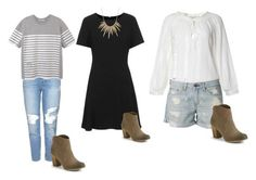 Personal Stylist Tips How to Style Ankle Boots: Summer-to-Fall distressed denim shift dress midi sweater button up tshirt Summer Fashion For Teens, Summer Fashion Outfits, Boho Fashion, Fashion Tips, Boho Beach Style, How To Wear Ankle Boots, Autumn Summer, Fall, Personal Stylist