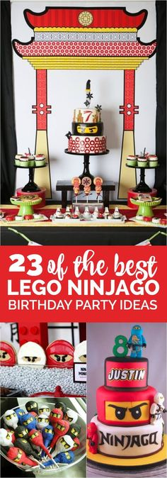 23 of the Best Ninjago Party Ideas