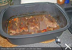 Rinderrouladen im Tupper Ultraplus – Quick Recipes Roast Recipe Easy, Easy Pot Roast, Pot Roast Recipes, Quick Recipes, Quick Easy Meals, Crockpot Recipes, Cooking Recipes, Slow Cooking, Tupperware Ultra Pro