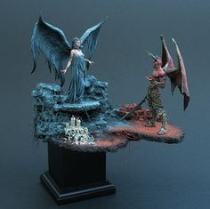 Rendezvous With The Devil - A-maz-ing…. Anyone know if that angel is a purchasable model/ where I could get one?