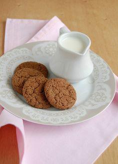Chocolate snickerdoodles / Snickerdoodles de chocolate by Patricia Scarpin, via Flickr