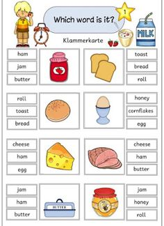 Which word is it English Activities For Kids, English Worksheets For Kids, English Lessons For Kids, Kids English, English Reading, Preschool Learning Activities, Learn English, English Classroom, Classroom Language
