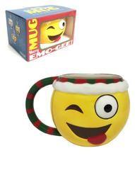 Xmas Emoji Mug- Winky Elf