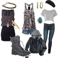 pictures of outfits with combat boots | PiinkCupcakez.com: What to wear with combat boots...