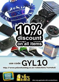 Get 10% off all #PS4 and retro goodies from Numskull Designs! Use code GYL10 at checkout   http://bit.ly/1z2EOrm