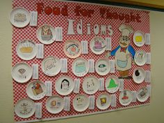 Unit 4 Week A Full Classroom: Idioms. Have students make up their own idioms about food and draw a picture of the idiom on a paper plate. Hang students' art work in the classroom. Teaching Language Arts, English Language Arts, Speech And Language, Classroom Language, Reading Skills, Teaching Reading, Teaching Tools, Teaching Ideas, Reading Resources