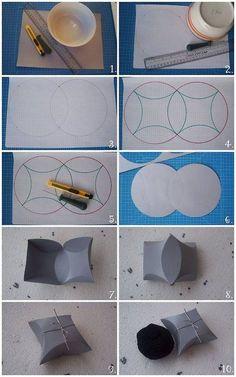 Geschenkverpackung - super Idee... :)