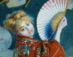 La Japonaise (Camille Monet in Japanese Costume) | Museum of Fine Arts, Boston