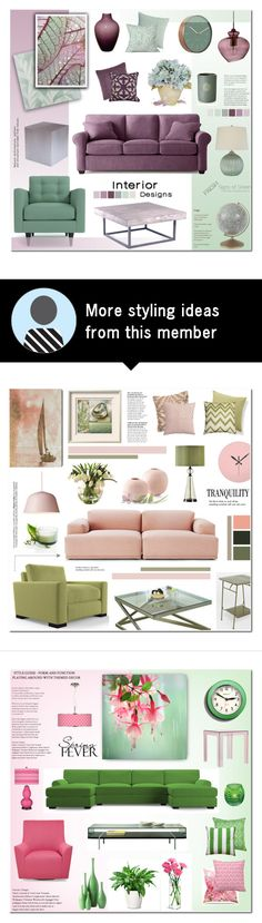 """Home- Living Room"" by anyasdesigns on Polyvore featuring interior, interiors, interior design, home, home decor, interior decorating, Catherine Malandrino, Osborne & Little, Karlsson and Heal's"