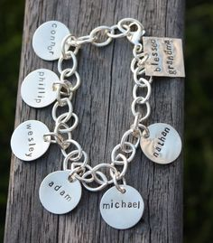 Would love to get this for my mom to tell her I'm pregnant. Have the names of the other granbabies and then add my new babies babies name.