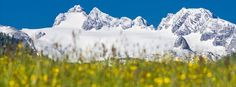 Dachsteinmassiv im Frühling Mountains, Nature, Travel, Time Out, Naturaleza, Viajes, Destinations, Traveling, Trips