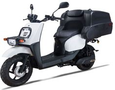 Electric Scooter EMW Cargo The Future for Professional Deliveries. It only needs of electric energy to cover a distance of Scooter Motorcycle, Bike, Electric Scooter, Scooters, Distance, Delivery, Future, Business, Cover