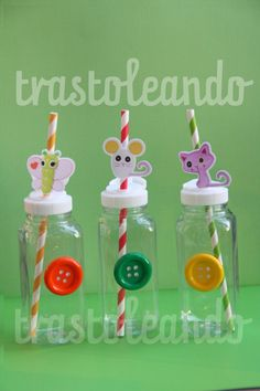 Lalaloopsy Party Square Plastic Bottle  French by Trastoleando, $1.50