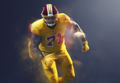 cccec846b65 The Washington Redskins are rebelling against the Nike's 'Color Rush'  uniforms and will reportedly ignore NFL orders to wear them. Thursday Night  ...